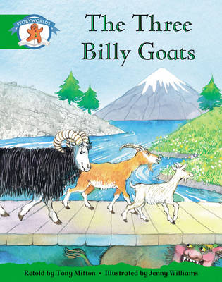 Storyworlds Reception/P1 Stage 3, Once Upon a Time World, the Three Billy Goats (6 Pack) by