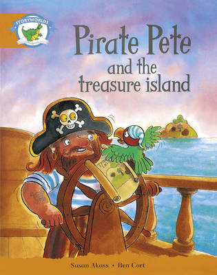 Literacy Edition Storyworlds Stage 4, Fantasy World Pirate Pete and the Treasure Island 6 Pack by