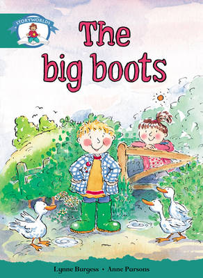 Storyworlds Yr1/P2 Stage 6, Our World, the Big Boots (6 Pack) by