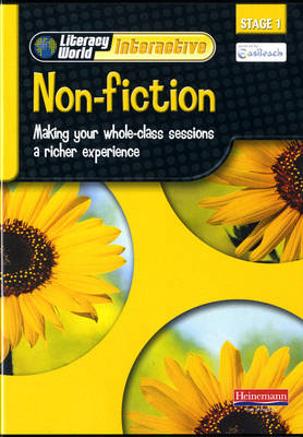 Literacy World Interactive Stage 1 Non-Fiction Single User Pack Version 2 Framework by