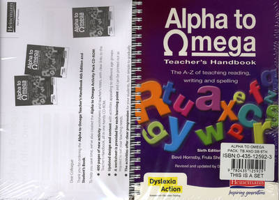 Alpha to Omega Pack: Teacher's Handbook and Student's Book by Beve Hornsby, Frula Shear, Julie Pool