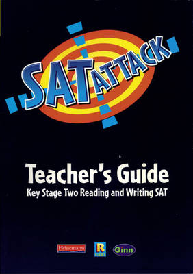 SAT Attack Reading/Writing: Teachers Guide by Jean Kendall
