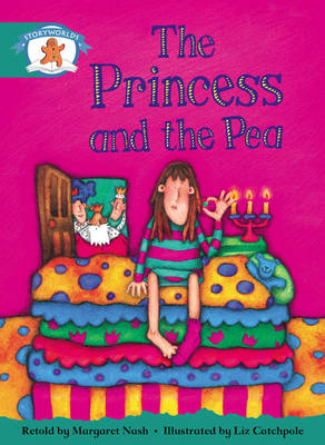 Storyworlds Yr1/P2 Stage 6, Once Upon a Time World, the Princess and the Pea (6 Pack) by