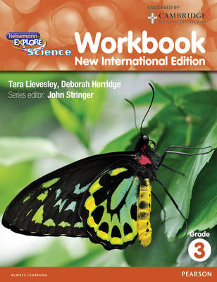 Heinemann Explore Science Workbook 3 by John Stringer, Deborah Herridge
