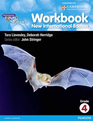 Heinemann Explore Science Workbook 4 by John Stringer, Deborah Herridge