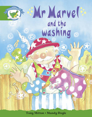Literacy Edition Storyworlds Stage 3 Mr Marvel and the Washing by