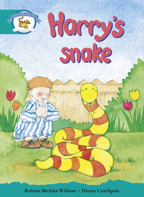 Literacy Edition Storyworlds Stage 6, Animal World, Harry's Snake by Robina Beckles Willson
