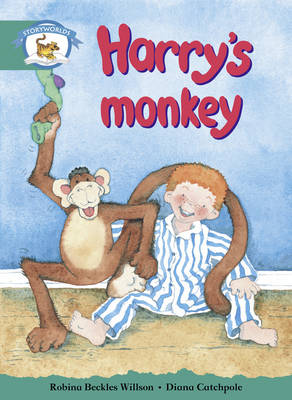 Literacy Edition Storyworlds Stage 6, Animal World, Harry's Monkey by Robina Beckles Willson