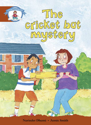 Literacy Edition Storyworlds Stage 7, Our World, the Cricket Bat Mystery by