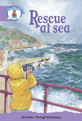 Literacy Edition Storyworlds Stage 8, Our World, Rescue at Sea by