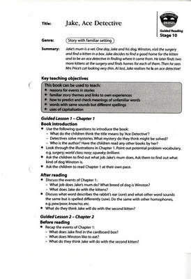 Storyworlds Bridges Stages 10-12 Guided Reading Cards by