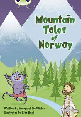 BC Brown A/3C Mountain Tales of Norway Brown A/3C by Margaret McAllister