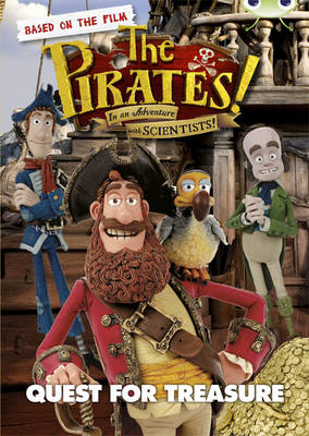 The Pirates in an Adventure with Scientists: Quest for Treasure Brown A/3C by Helen Parker