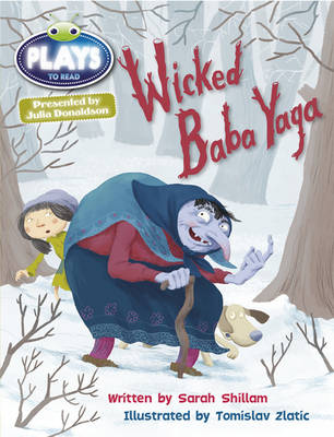 Wicked Baba Yaga Plays Brown/3c-3b by Sarah Shillam