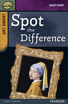 Rapid Stage 8 Set A: Art Smart: Spot the Difference! 3-Pack by Dee Reid