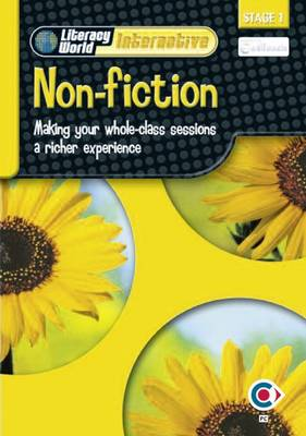 Literacy World Interactive Stage 1 Non-Fiction: Software Single User Pack Scotland NI Version by