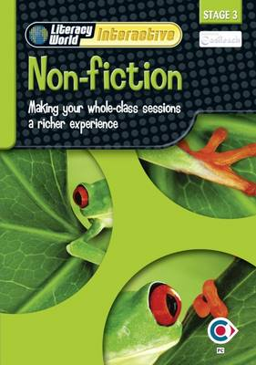 Literacy World Interactive Stage 3 Non-Fiction: Software Single User Pack Scotland/NI by