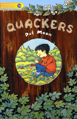 Literacy World Comets Stage 1 Novels: Quackers (6 Pack) by Pat Moon