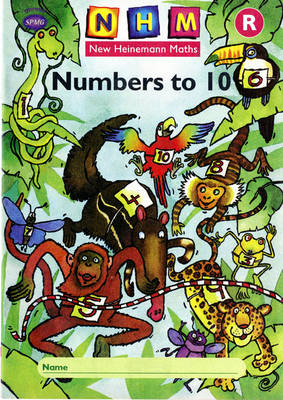 New Heinemann Maths Reception, Numbers to 10 Activity Book (single) by