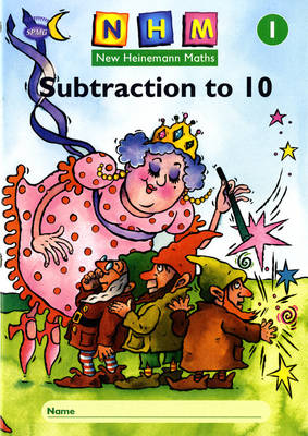 New Heinemann Maths Year 1, Subtraction to 10 Activity Book (Single) by