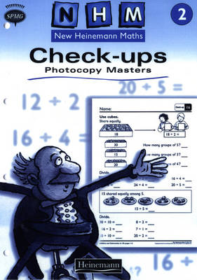 New Heinemann Maths Yr2, Check-up Workbook Photocopy Masters by Scottish Primary Maths Group SPMG