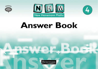 New Heinemann Maths Year 4, Answer Book by