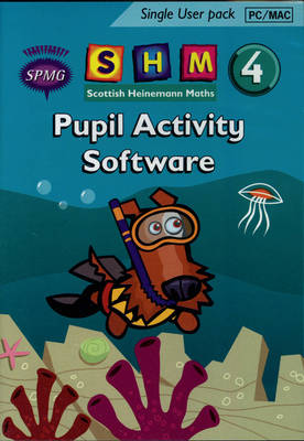 Scottish Heinemann Maths 4 Pupil Activity Software Single User by