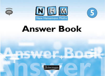New Heinemann Maths Year 5, Answer Book by