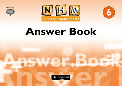 New Heinemann Maths Year 6, Answer Book Answer Book by