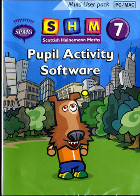 Scottish Heinemann Maths 7 Pupil Activity Software Multi User by