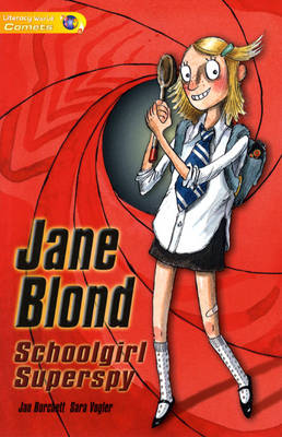 Literacy World Comets ST1 Novel Jane Blond by Jan Burchett, Sara Vogler