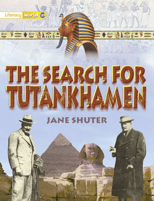 Literacy World Satellites Non Fiction Stage 1 Guided Reading Cards Search of Tutankhamen by