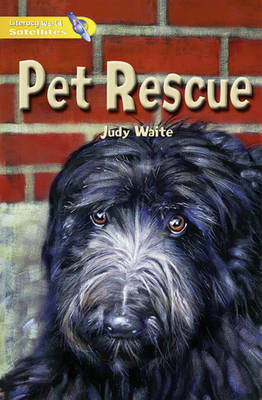 Literacy World Satellites Fiction Stage 1 Guided Reading Cards Pet Rescue Framework 6 Pack by Judy Waite