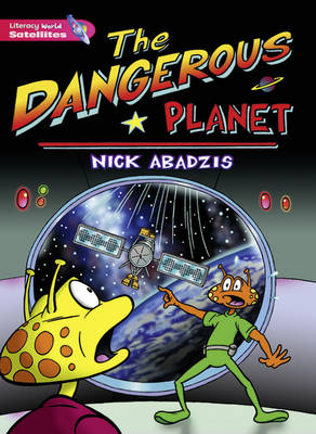 Literacy World Satellites Fiction Stage 2 Guided Reading Cards Danger Planet Framework 6 Pack by