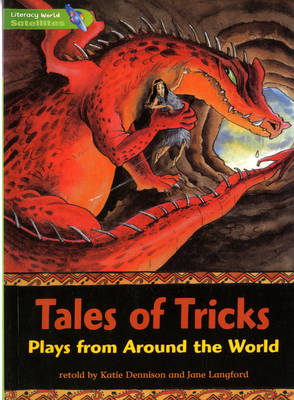 Literacy World Satellites Fiction Stage 3 Guided Reading Cards Tales of Tricks Framework 6 Pack by