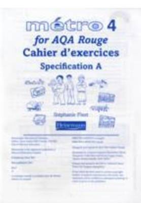 Metro 4 for AQA Higher Workbook for Specification A by