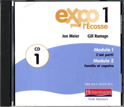 Expo Pour l'Ecosse 1 Audio CDs (Pack of 3) by