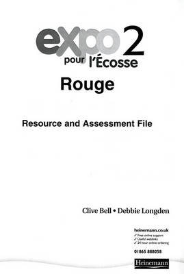 Expo Pour L'Ecosse 2 Rouge Resource and Assessment File Paper Block by Clive Bell