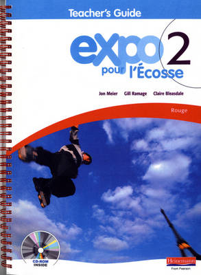 Expo Pour l'Ecosse 2 Rouge Teacher's Guide & CD-ROM by
