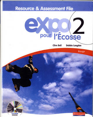 Expo Pour L'Ecosse 2 Rouge Resource and Assessment File (with CD-ROM & Audio CD) by Clive Bell