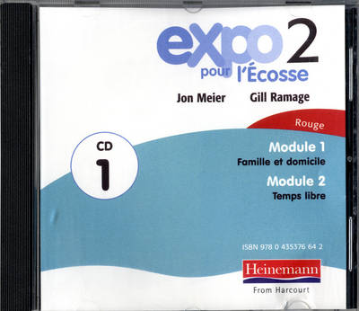 Expo Pour l'Ecosse 2 Rouge Audio CDs (Pack of 3) by