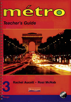 Metro 3 Rouge Teacher's Guide Euro Edition by