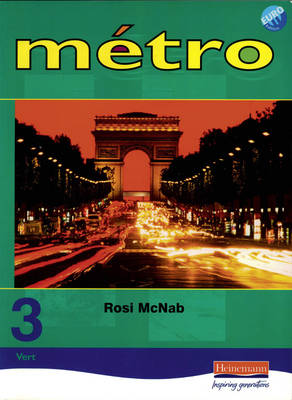 Metro 3 Vert Pupil Book Euro Edition by Rosi McNab