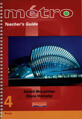 Metro 4 Higher Teacher's Guide by