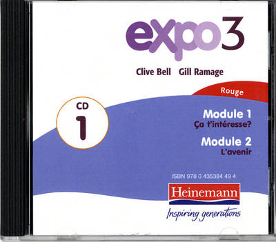Expo 3 Rouge Audio CDs (Pack of Three) by
