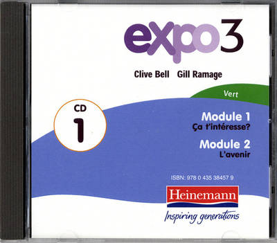 Expo 3 Vert Audio CDs (Pack of Three) by