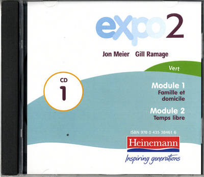 Expo 2 Vert Audio CDs (Pack of Three) by