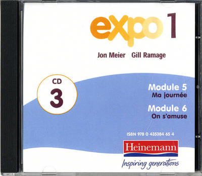 Expo 1 Audio CDs (Pack of Three) by