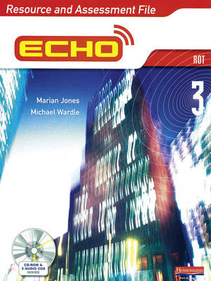 Echo 3 Rot Resource and Assessment File by Marian Jones, Michael Wardle
