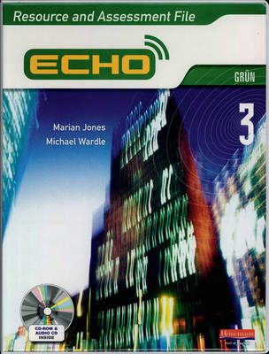 Echo 3 Green Resource and Assessment File by Marian Jones, Michael Wardle